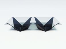 origami rectangular fonblanc